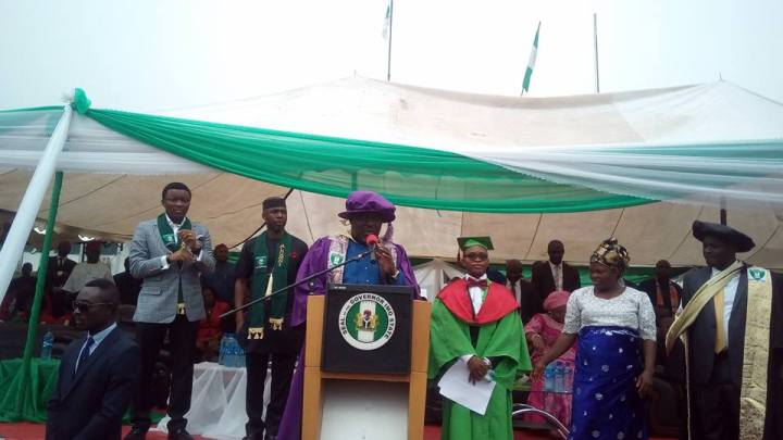 Imo State University best graduating student