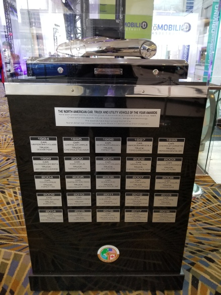NAIAS Car, Truck and Utility Vehicle of the Year Awards Winners from 1984 to Present
