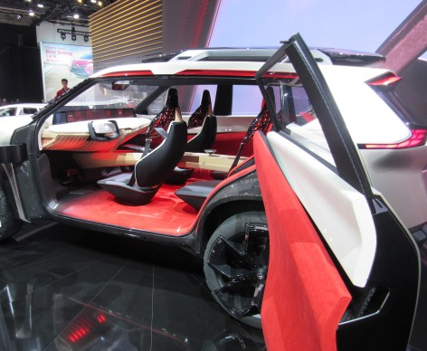 Nissan Xmotion Interior