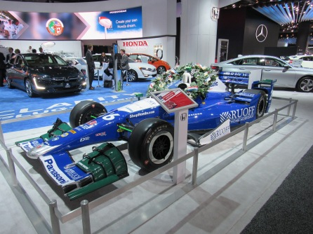 2017 Indianapolis 500 Winning Indy Car