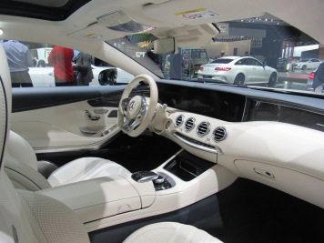 Mercedes-Benz AMG S Coupe Interior