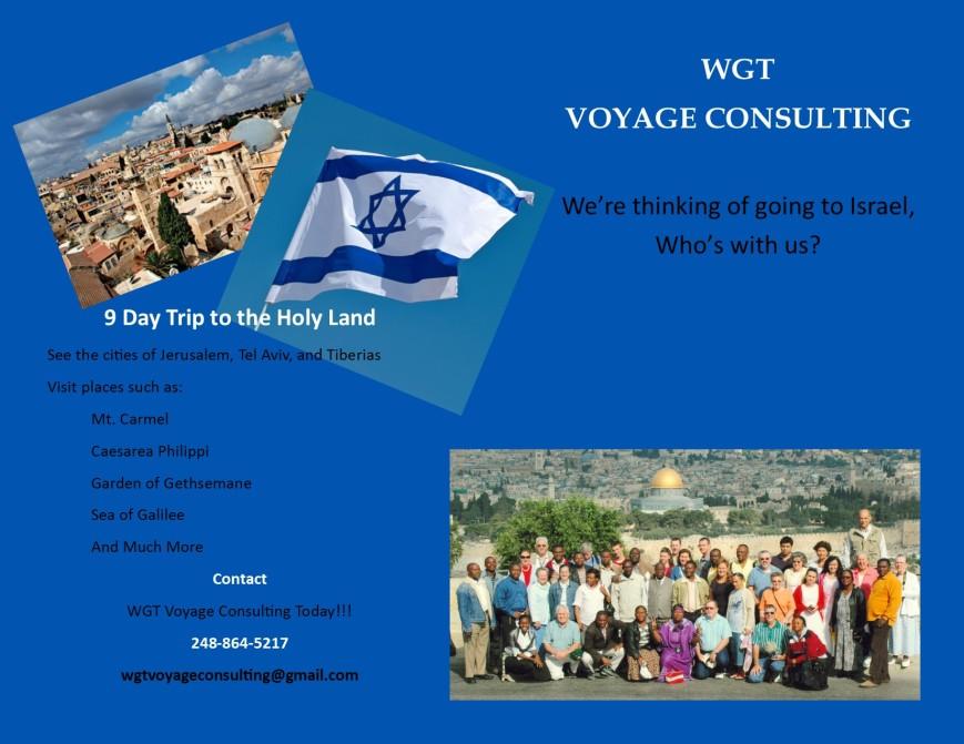 WGT Voyage Israel