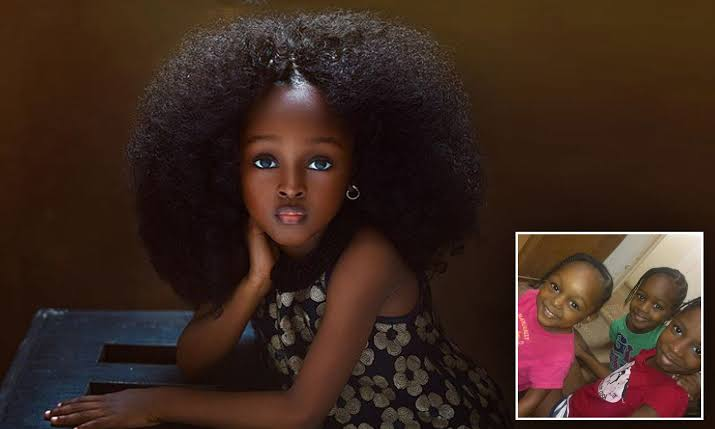 45 Most Beautiful Black Women Around The World: 5-year-old Girl Named Most Beautiful In The World Becomes